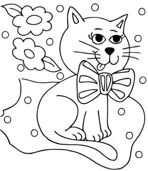 cat coloring pages free 785wd