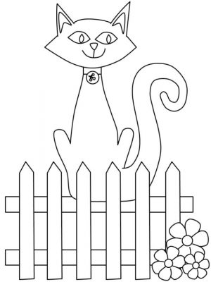 cat coloring pages printable u69g4