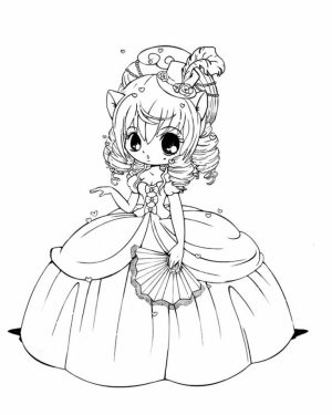 Chibi Coloring Pages Free for Kids   IX63T