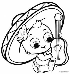 Cinco de Mayo Coloring Pages to Print for Kids   37624