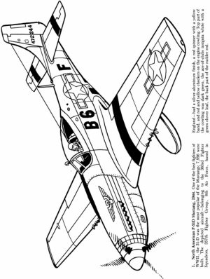Coloring Pages of Airplane   t2bc9