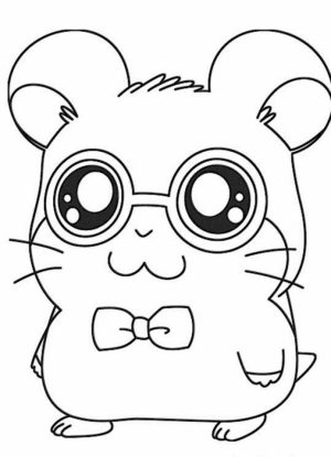 Coloring Pages of Cute Animal for Kids   t4bc5