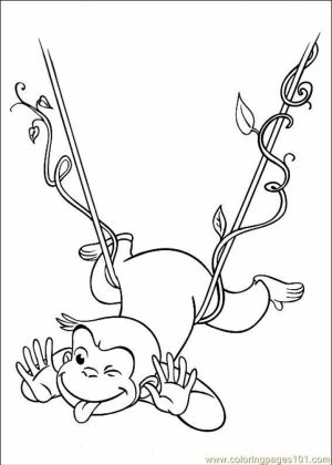 Curious George Coloring Pages Online   21850