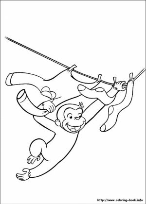 Curious George Coloring Pages Online   31740