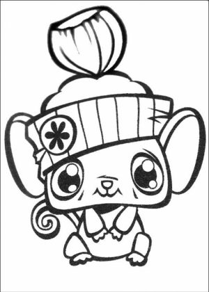 Cute Coloring Pages of Littlest Pet Shop   26480
