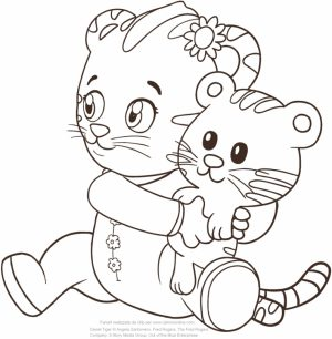 Daniel Tiger Coloring Pages Printable   15a31