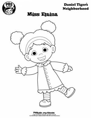 Daniel Tiger Coloring Pages to Print   5bsga