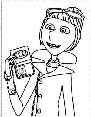 Despicable Me Coloring Pages Free for Toddlers   7dg3s