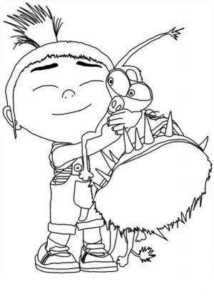 Despicable Me Coloring Pages to Print   16sh2