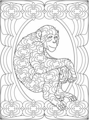 Difficult Trippy Coloring Pages for Grown Ups   X8VR6