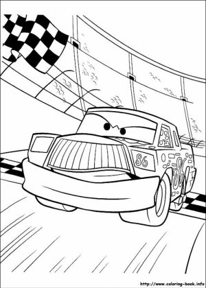 Disney Cars Coloring Pages to Print for Kids   87452