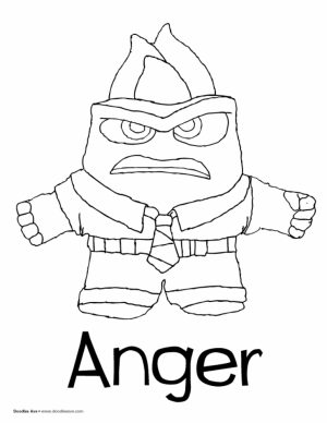 Disney Inside Out Coloring Pages Free to Print   30027