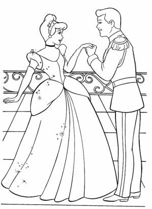 Disney Princess Cinderella Coloring Pages Printable   26451