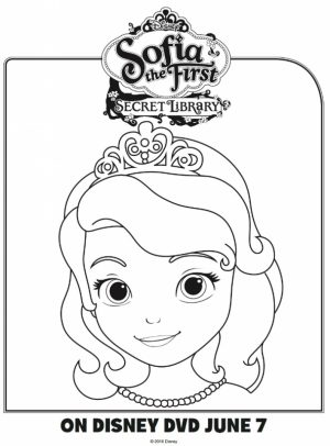 Disney Sofia the First Coloring Pages Printable   21489