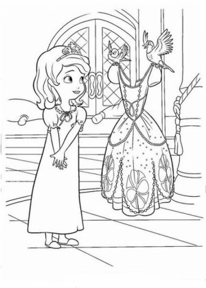 Disney Sofia the First Coloring Pages Printable   67281