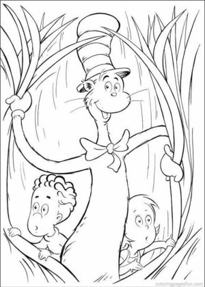 Dr Seuss Coloring Pages Free Printable   78429