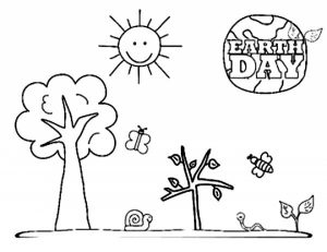 Earth Day Free Printable Coloring Pages   41850