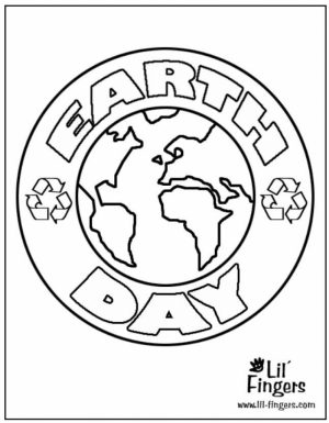 Earth Day Free Printable Coloring Pages   51670