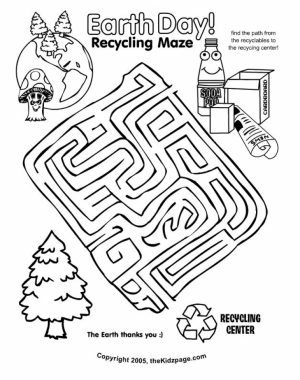 Earth Day Free Printable Coloring Pages   74519