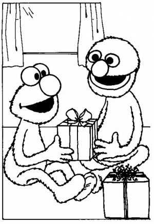 Elmo Coloring Pages Fun Kids Printable   55721