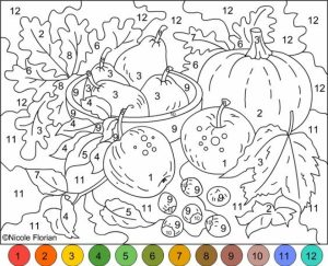 Fall Coloring Pages for Grown Ups Free Printable   zmn9l