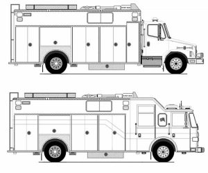 Fire Truck Coloring Pages Free to Print   87410