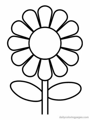 Flowers Coloring Pages   2758