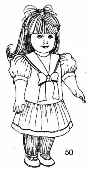 Free American Girl Coloring Pages   t29m17
