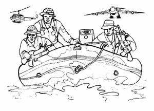 Free Army Coloring Pages to Print   6pyax