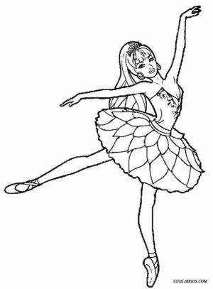 Free Ballerina Coloring Pages   72ii14