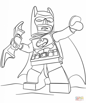 Free Batman Coloring Pages   467397