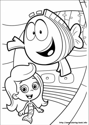 Free Bubble Guppies Coloring Pages   787908