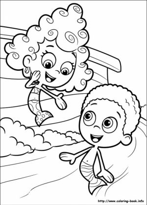Free Bubble Guppies Coloring Pages   834910