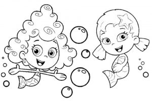 Free Bubble Guppies Coloring Pages to Print   920509