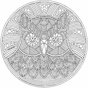 Free Complex Coloring Pages to Print for Adults   DV5BP