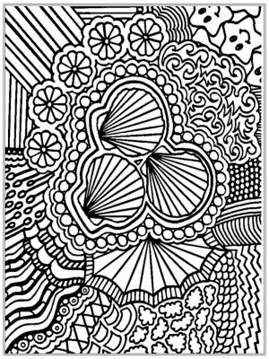 Free Complex Coloring Pages to Print for Adults   SZ9MR