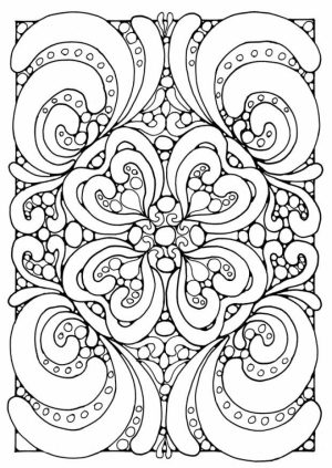Free Difficult Coloring Pages   92898