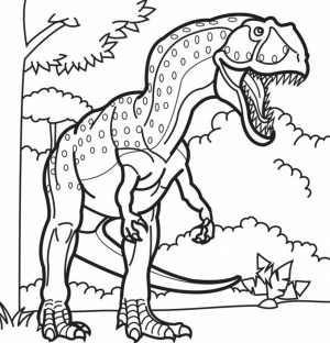 Free Dinosaurs Coloring Pages to Print   t29m21
