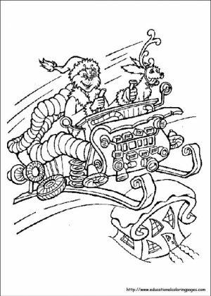 Free Dr Seuss Coloring Pages   58346