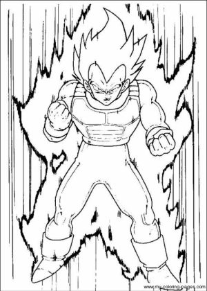 Free Dragon Ball Z Coloring Pages to Print   61796