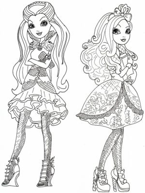 Free Ever After High Coloring Pages   39747