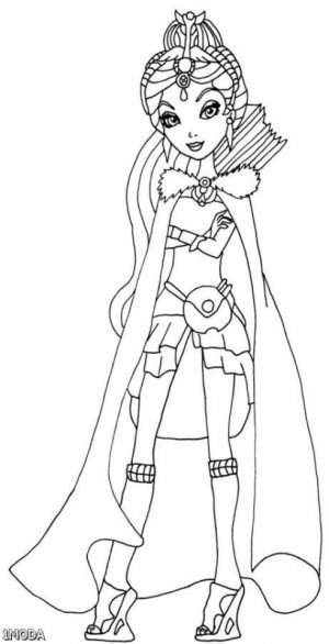 Free Ever After High Coloring Pages to Print   00029
