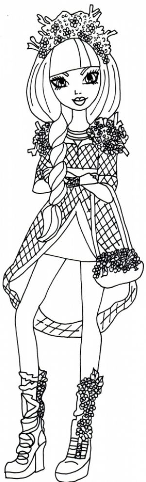 Free Ever After High Coloring Pages to Print   77745