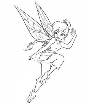 Free Fairy Coloring Pages   67195