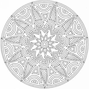 Free Geometric Coloring Pages to Print   45578