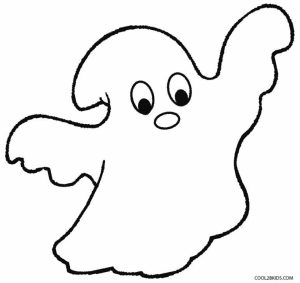 Free Ghost Coloring Pages to Print   39122