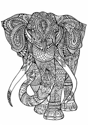 Free Grown Up Coloring Pages   16377
