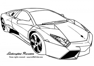 Free Lamborghini Coloring Pages to Print   18251
