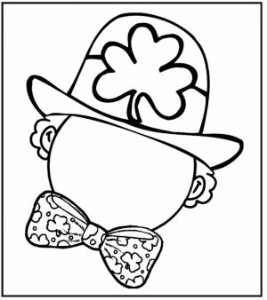 Free Leprechaun Coloring Pages to Print   6pyax