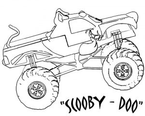 Free Monster Truck Coloring Pages to Print   73607